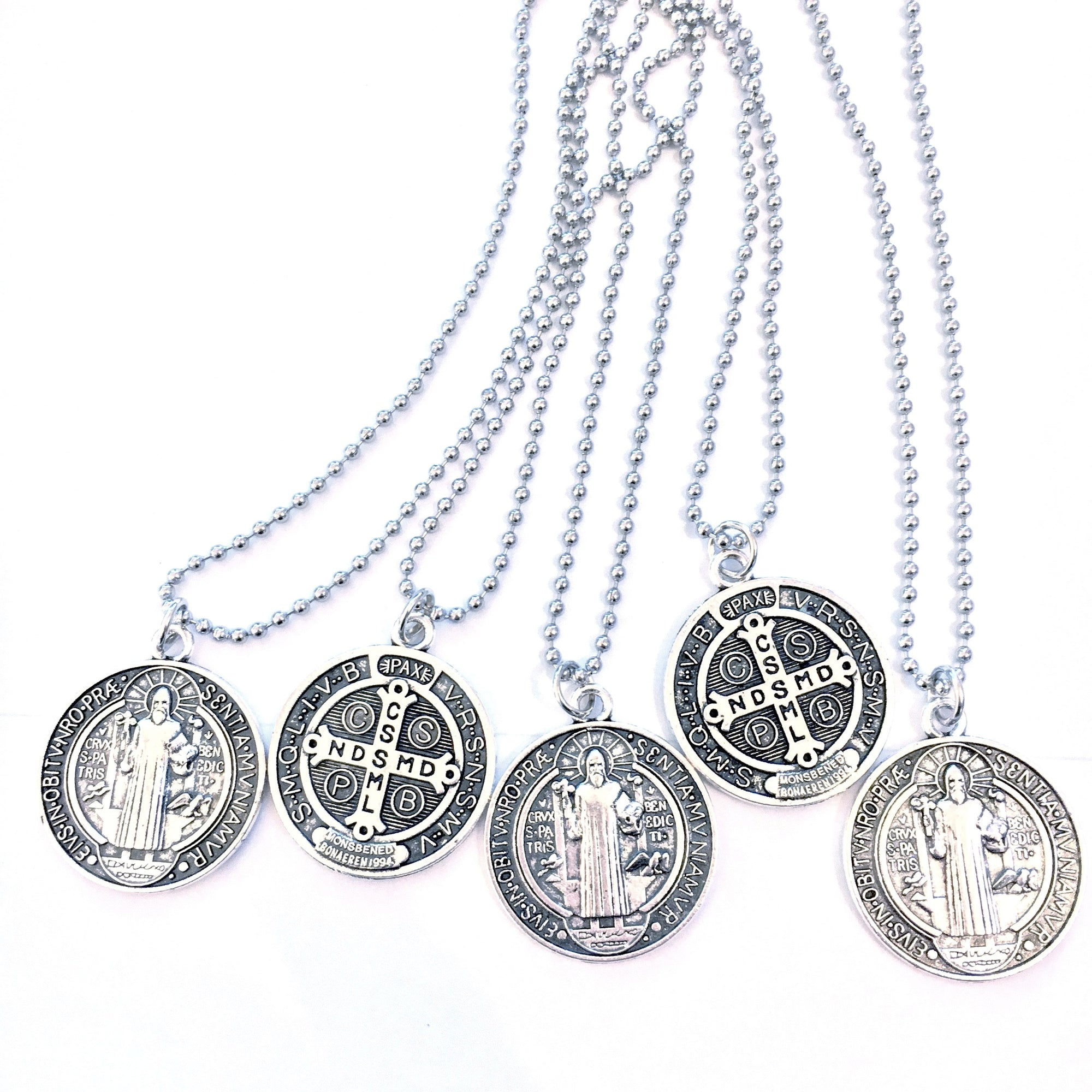 company st benedict catholic the medallion rosary