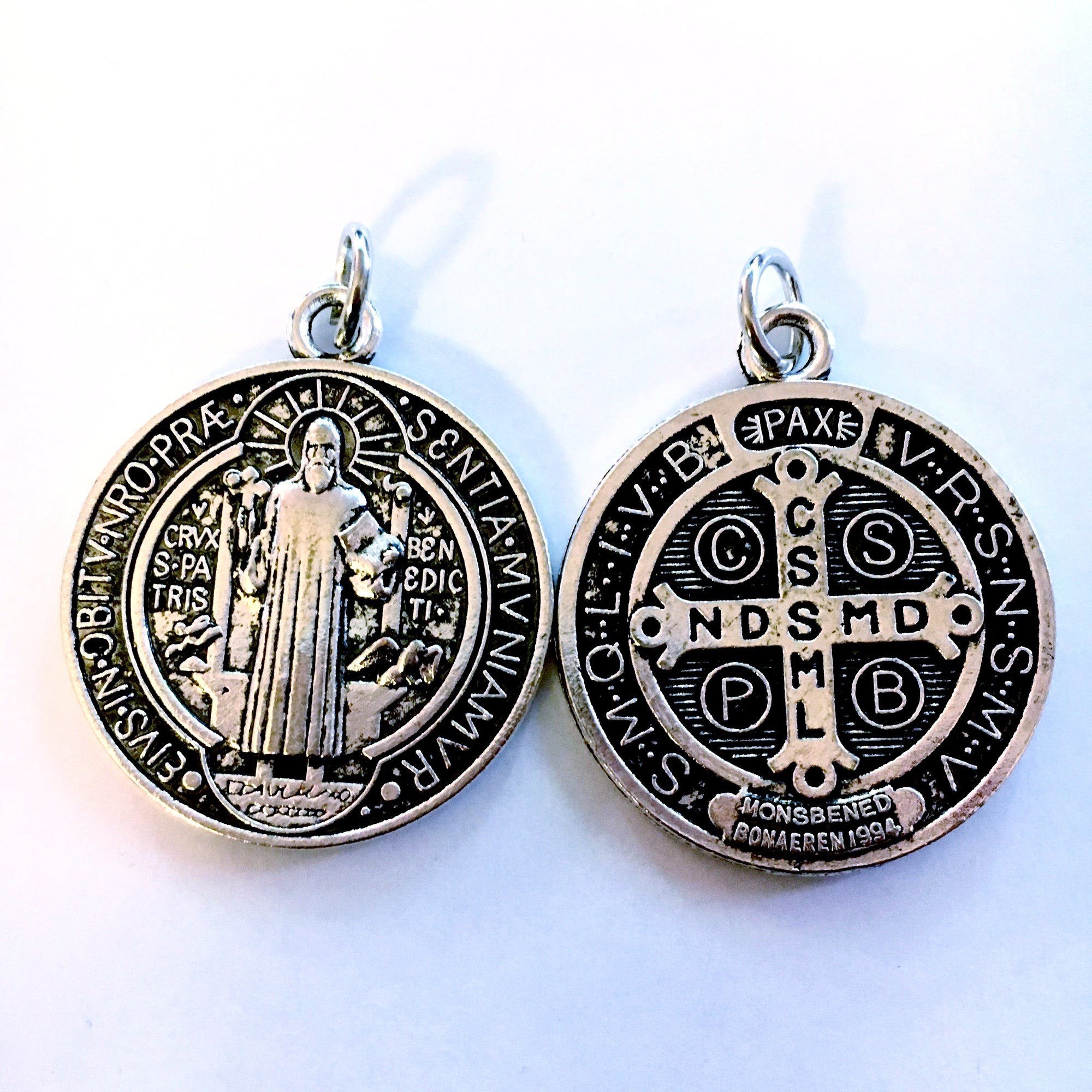 catholic medal community supply st benedict ny img inc medallion