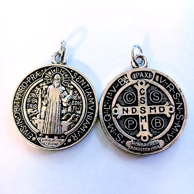 St Benedict Medal Cross Necklace