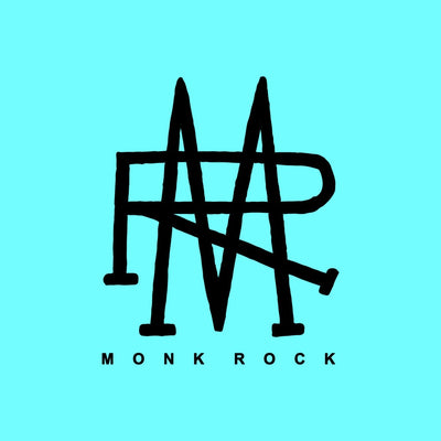 MonkRock (MR) Logo Sticker