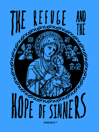 The Refuge And The Hope of Sinners Sticker
