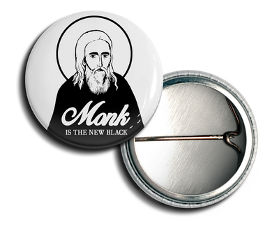 Monk Is The New Black Button