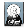 Monk Is The New Black Sticker