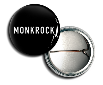 MONKROCK Text Logo Button
