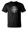 St Benedict Medal Holy Cross Tee