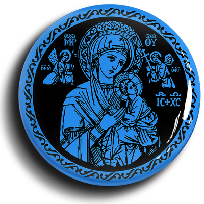 The Refuge and The Hope of Sinners Button