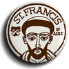 St Francis Of Assisi Tertiary Button