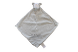 Angel Dear Gray Bulldog Blankie