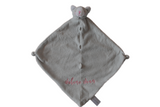 Angel Dear Gray Kittie Blankie