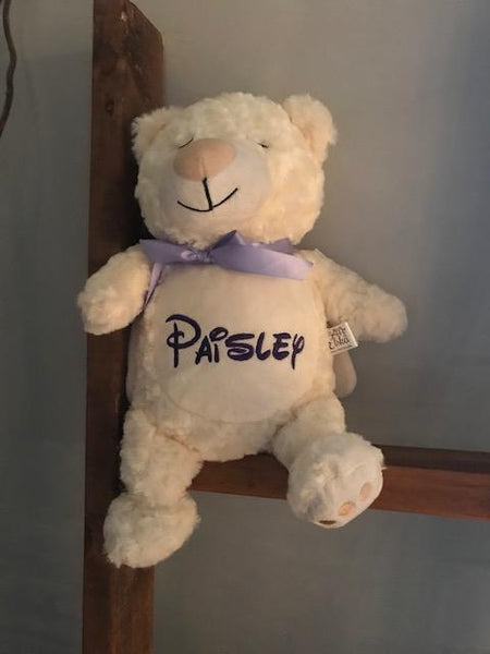 Personalized Stuffed Animal Angel Bear