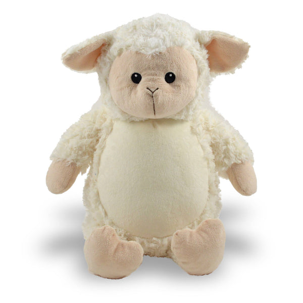 Personalized Stuffed Animal Lamb