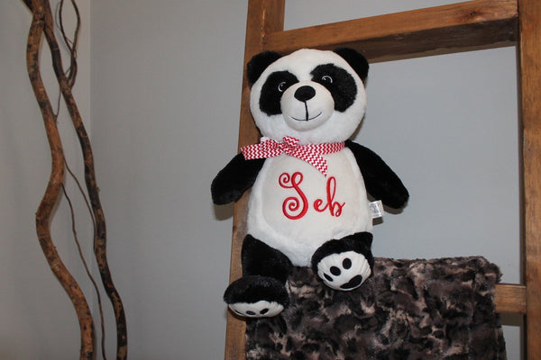 Personalized Stuffed Animal Panda Bear