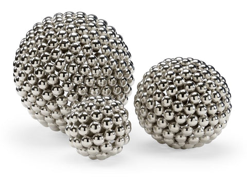 3 Spheres Textured Metal Balls