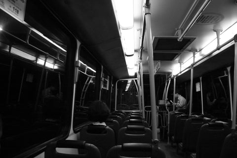 Evening Bus Ride