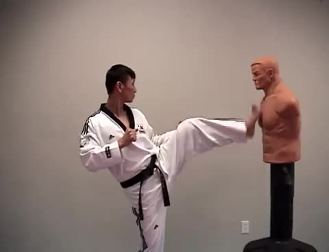 Self-Defense Front Kick