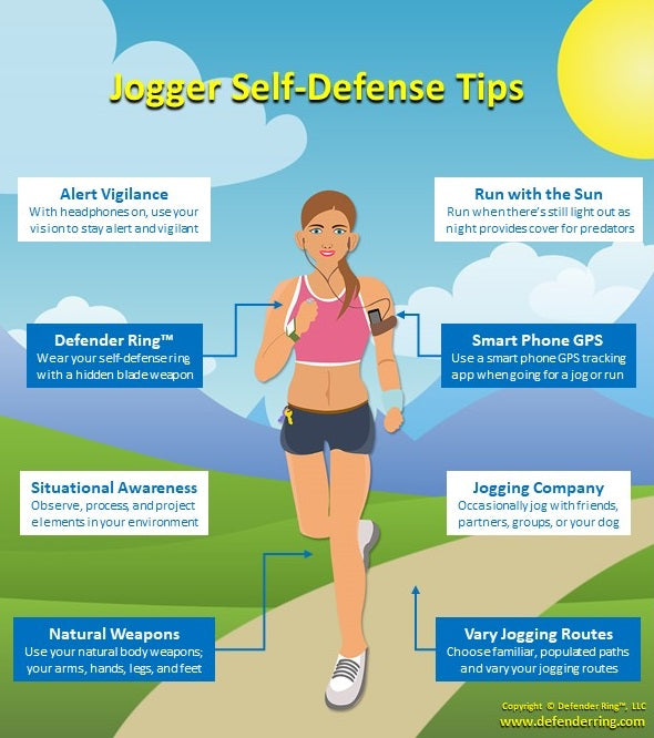 8 Jogger Self-Defense Tips