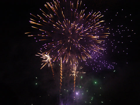 Fireworks on New Year's for Self Defense Resolutions
