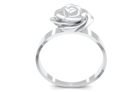 Self Defense Rose Ring