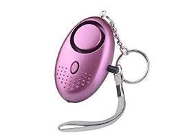 Purple Keychain Alarm