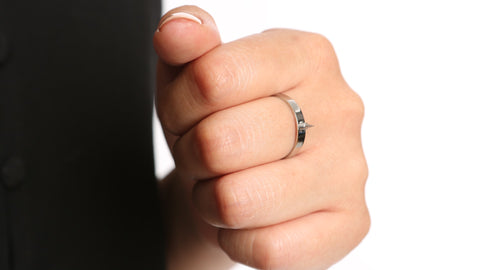 Powerful Sharp Self-Defense Ring for Women
