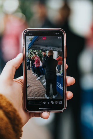 Recording people with your cell phone
