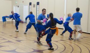 Kung Fu Sparring Martial Arts Class