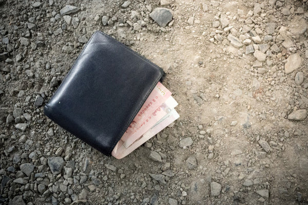 Wallet on Ground - Compliance for Self-Defense