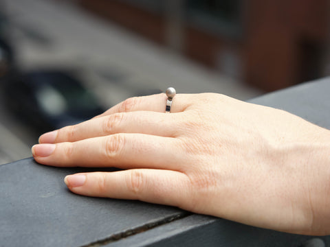Minimal Self Defense Ring in City