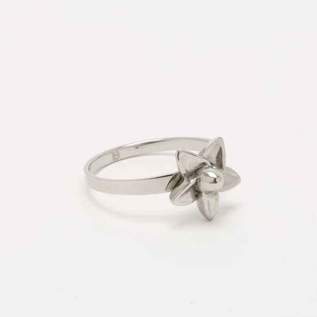 Self Defence Jewelry Ring | Pretty Plumeria Flower Jewelry