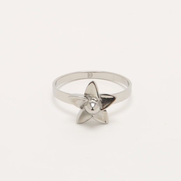 Self Defense Jewelry | Beautiful Plumeria Flower Ring