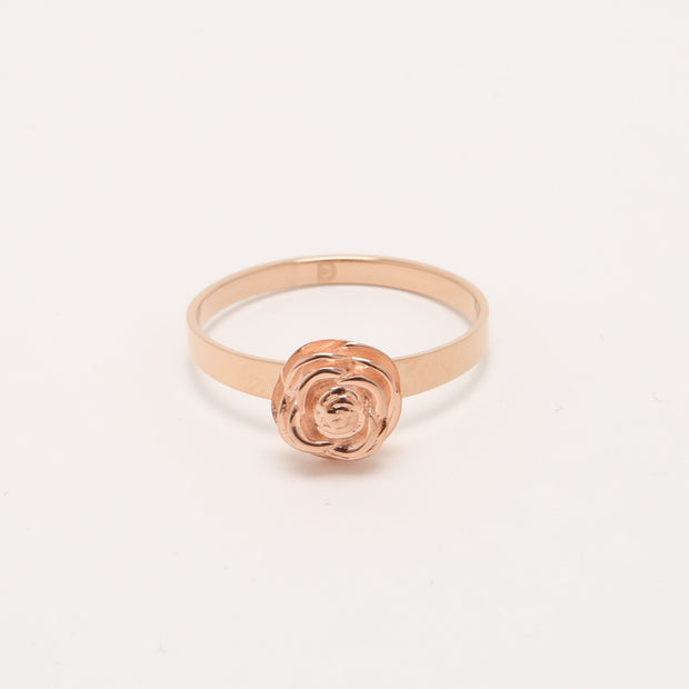 Beautiful Rose Self Defense Ring Plated in Rose Gold | Defender Ring