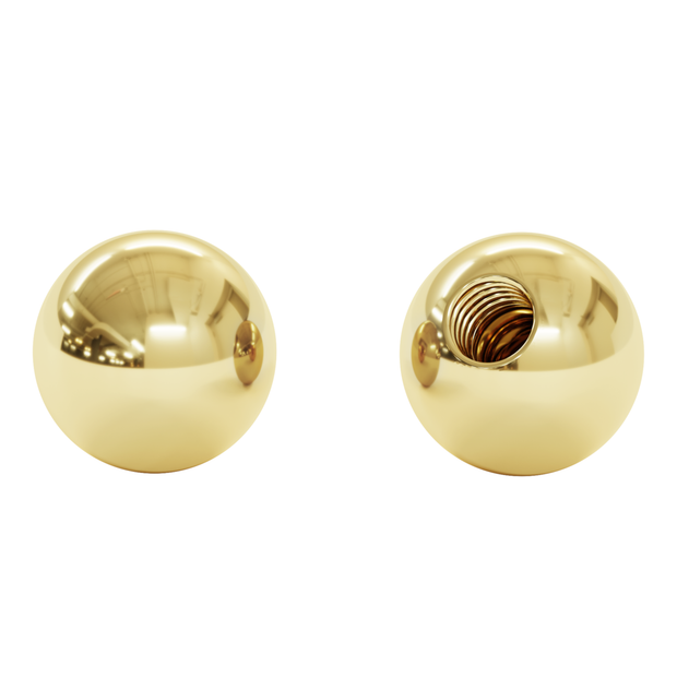 Sphere X, 14K Gold (Top Only)