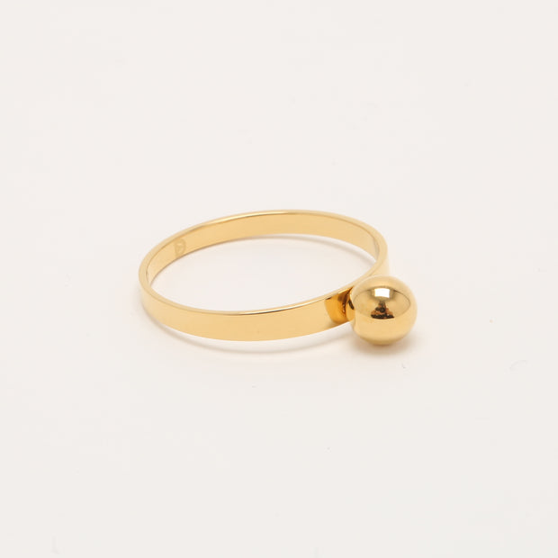Sphere, 14K Gold