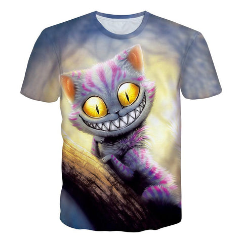 T-shirt Cat Summer Tops