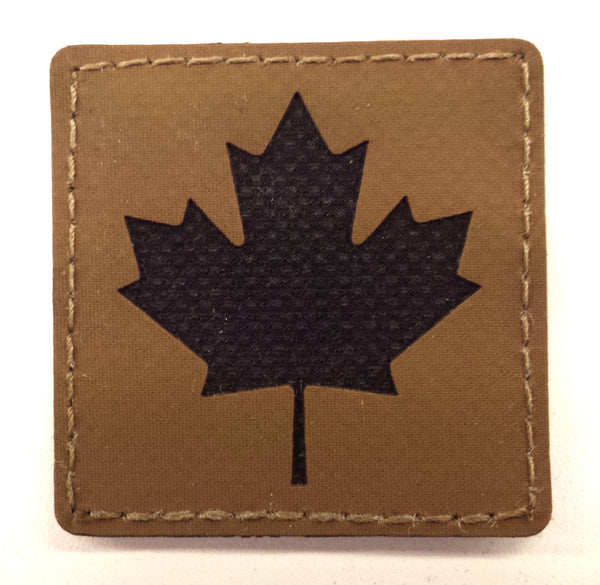 "HANK (HD Etched) 2""x2"" CDN Flag Patch"