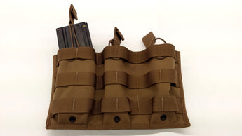 5.56x45 (30 rnd) Triple Shingle Magazine Pouch - Miltex Tactical