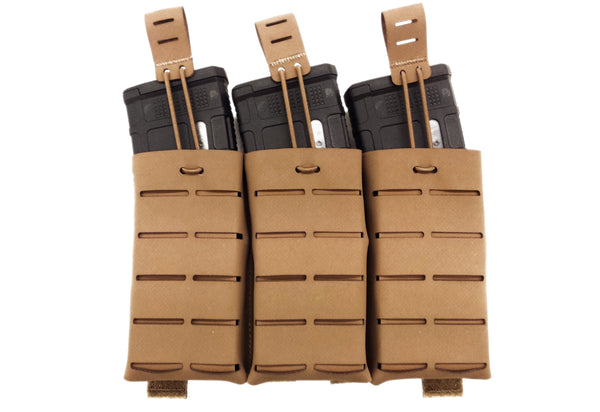 5.56x45 (30rnd) HANK Hi-Pro 556 TypeVIIB Triple Shingle Magazine Pouch - Miltex Tactical