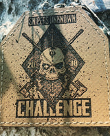 "3"" SNIPERS UNKNOWN CHALLENGE 2018 Plate Patch"