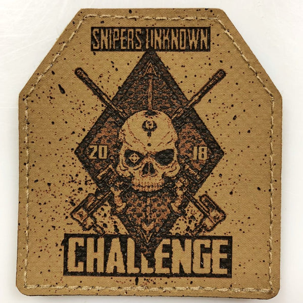 Official Snipers Unknown Challenge 2018 Plate Patch