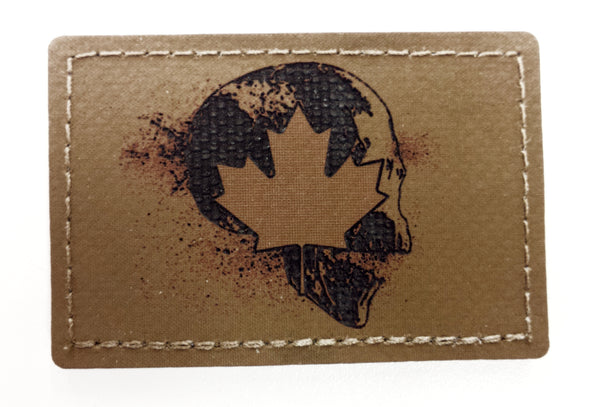 "HANK (HD Etched) 2""x3"" Canadian Reaper Patch"