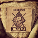 "HANK (HD Etched) 3""x3"" SNIPERS UNKNOWN CHALLENGE 2018 Patch"