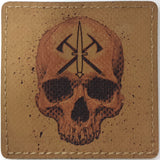"HANK (HD Etched) 3""x3"" Dagger / Tomahawk / Reaper Patch - Miltex Tactical"