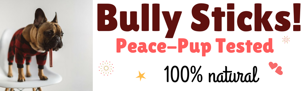 Peacebone Natural Bully Sticks