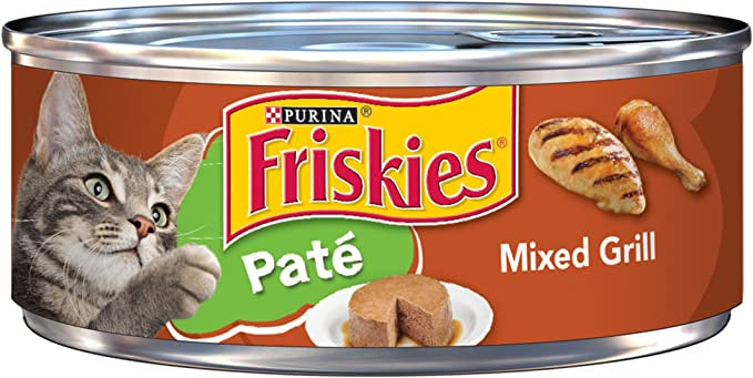 Friskies Pate Mixed Grill Canned Cat Food