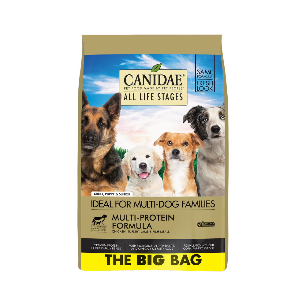 Canidae All Life Stages Chicken, Turkey, Lamb & Fish Meals Recipe Dry Dog Food