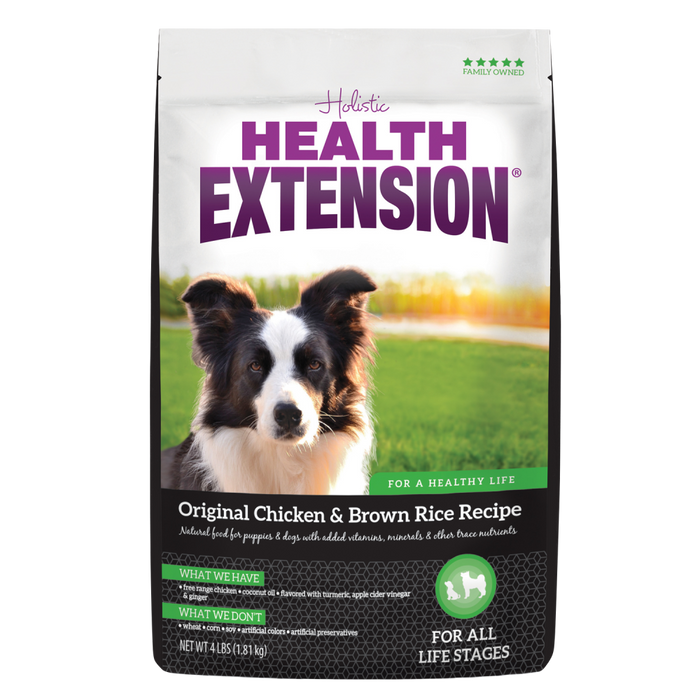 Health Extension Original Chicken and Brown Rice Dry Dog Food