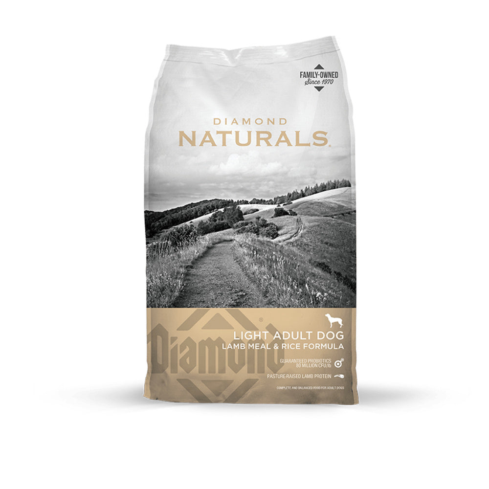 Diamond Naturals Light Lamb Meal & Rice Adult Dry Dog Food