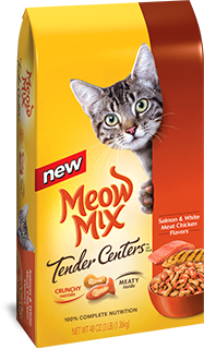 Meow Mix Tender Salmon and White Meat Chicken Flavors Dry Cat Food