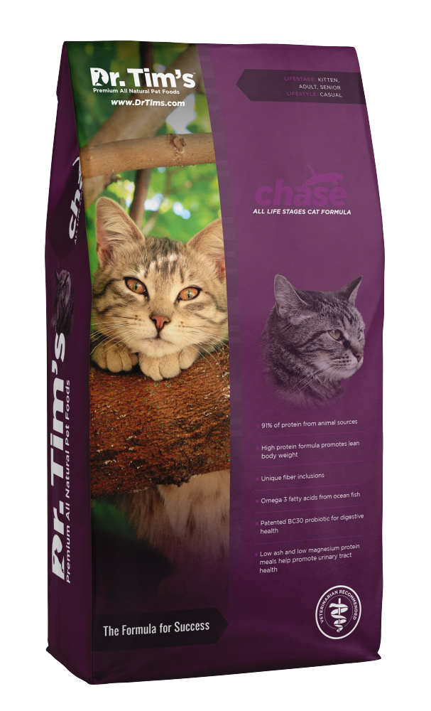 Dr. Tim's Chase All Life Stages Dry Cat Food - Dr. Tim's | Peacebone