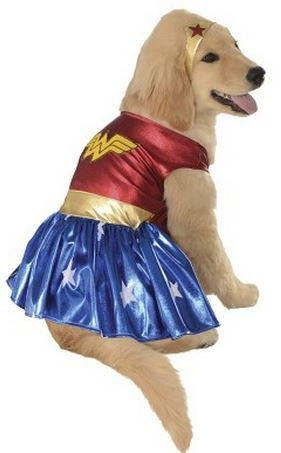Rubies Pet Shop Wonder Woman Dog Costume
